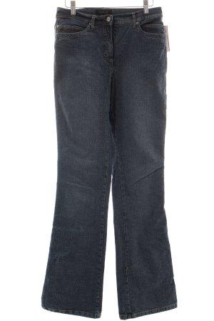 Opus Boot Cut Jeans blau Casual-Look