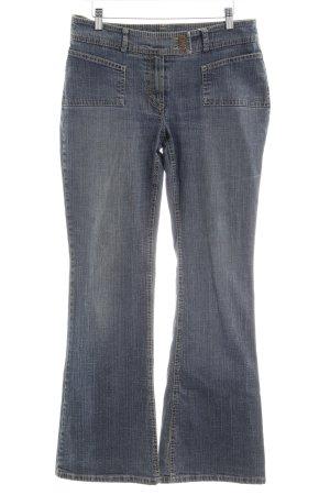 Opus Jeans bootcut gris ardoise Application de logo
