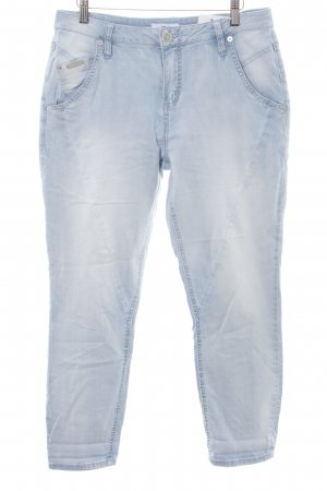 Opus Boyfriend jeans azuur casual uitstraling
