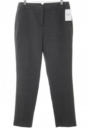 Opus Pleated Trousers dark grey flecked business style