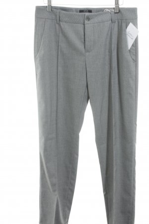 Opus Bundfaltenhose hellgrau meliert Business-Look