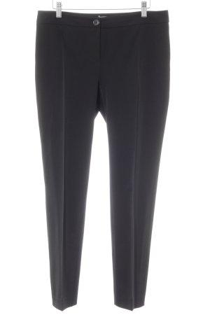Opus Pantalon à pinces noir style d'affaires