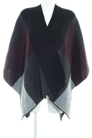 Opus Cape color blocking casual look