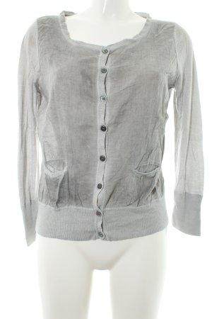 Opus Cardigan gris clair style décontracté