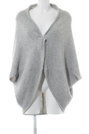Opus Cardigan grigio chiaro modello web stile casual