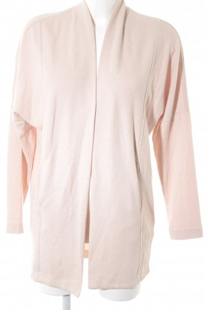 Opus Cardigan rosa pallido stile da moda di strada