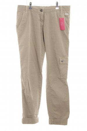 Opus Cargo Pants natural white casual look