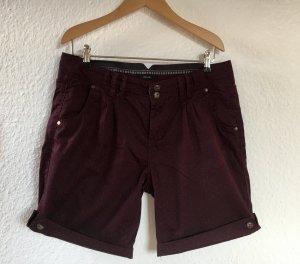 Opus Chino Shorts, Beerenton, Pünktchen