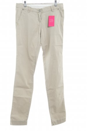 Opus Chinos oatmeal casual look