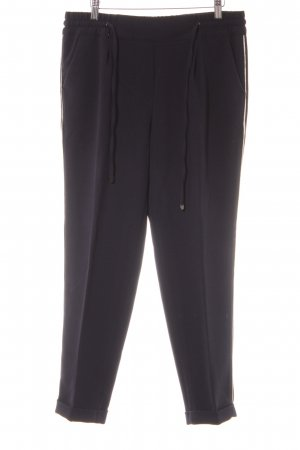 Opus Pantalone chino bianco-blu scuro stile atletico