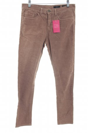 Opus Corduroy Trousers light brown simple style