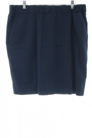Opus Crash Skirt blue casual look