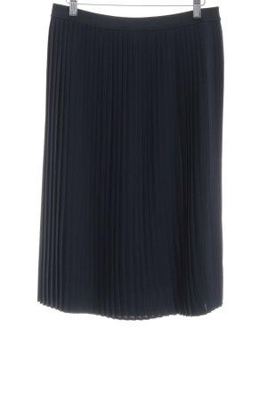 Opus Faltenrock dunkelblau schlichter Stil
