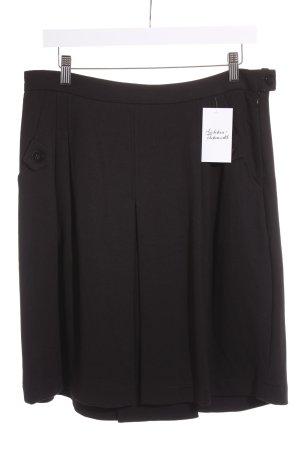 Opus Faltenrock schwarz klassischer Stil