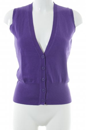 Opus Fine Knitted Cardigan lilac casual look