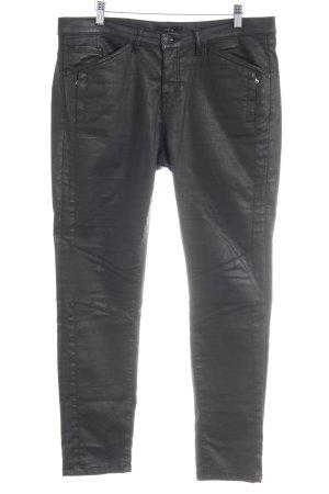 Opus Five-Pocket Trousers black casual look