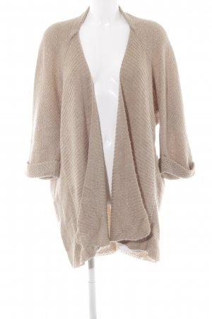 Opus Cardigan all'uncinetto color cammello stile casual