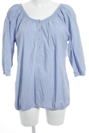Opus Camicia blusa azzurro stile casual