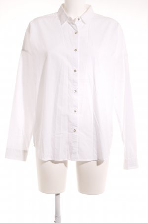 Opus Hemd-Bluse weiß Business-Look