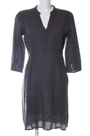 Opus Abito blusa camicia nero-grigio chiaro stampa integrale stile casual