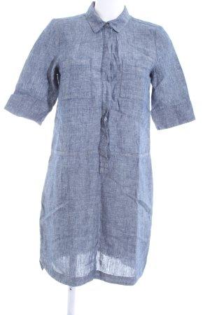 Opus Vestido tipo blusón azul moteado look casual