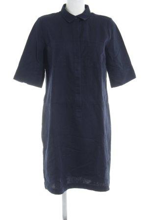 Opus Abito blusa camicia blu scuro stile casual