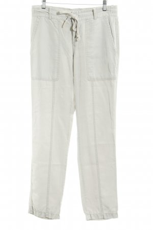 Opus High Waist Trousers light grey casual look