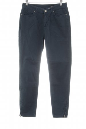 Opus High-Waist Hose kadettblau Casual-Look