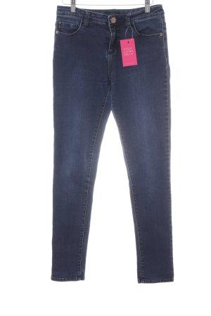 Opus Jeans a vita alta blu scuro stile casual