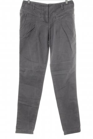 Opus Hoge taille jeans grijs casual uitstraling