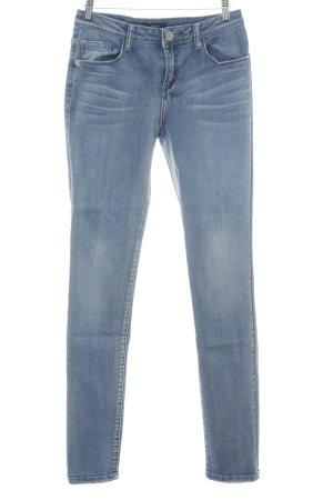 Opus Jeans a vita alta blu fiordaliso stile casual