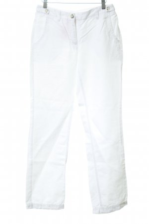 Opus High Waist Jeans white jeans look