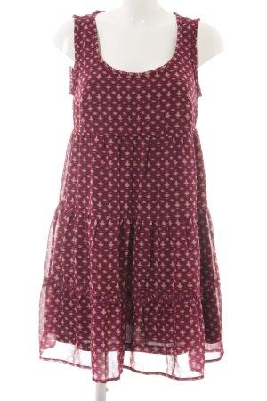 Opus Hippie Dress violet-oatmeal abstract pattern beach look