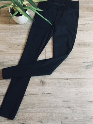 Opus Leather Trousers black