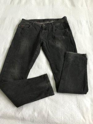 Opus Jeans dunkelgrau used Look