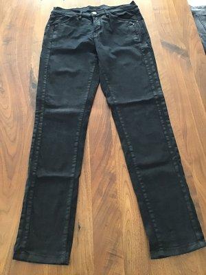 Opus Stretch broek zwart