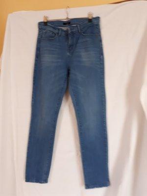 Opus Jeans a vita alta blu pallido-azzurro