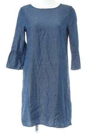 Opus Vestido vaquero azul look casual