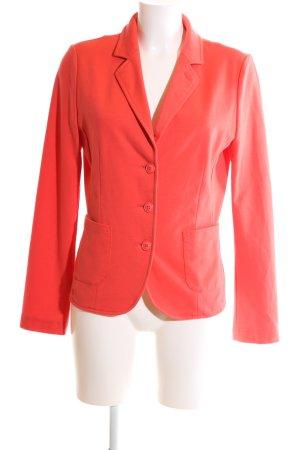 Opus Jersey Blazer rojo look casual