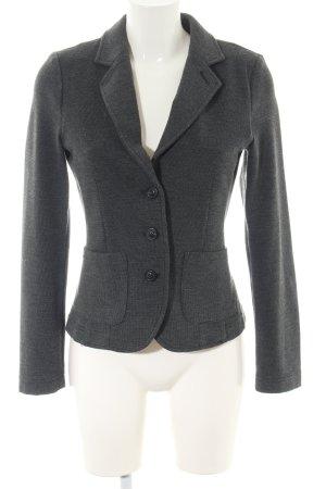 Opus Jersey Blazer light grey weave pattern business style