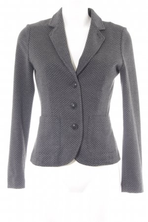 Opus Jerseyblazer anthrazit-wollweiß Business-Look