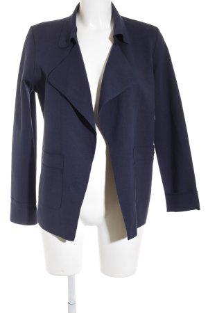 Opus Jerseyblazer blau Casual-Look