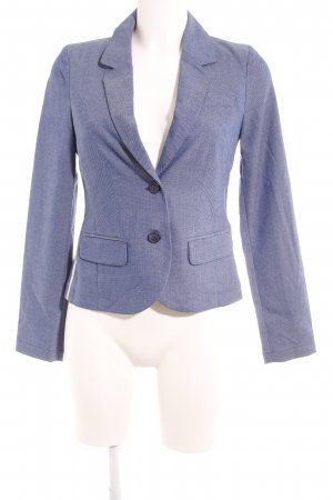 Opus Jerseyblazer blau-weiß Business-Look