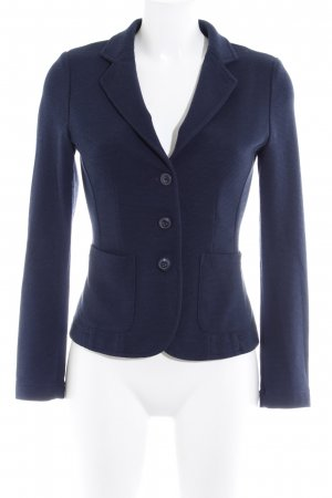 Opus Jerseyblazer dunkelblau Business-Look
