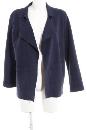 Opus Jerseyblazer dunkelblau Casual-Look