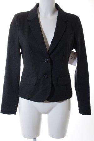 Opus Jerseyblazer dunkelblau-schwarz meliert Business-Look