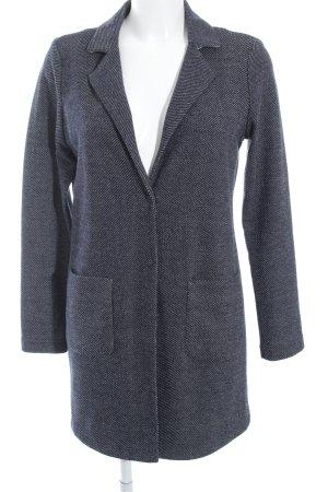 Opus Jerseyblazer dunkelblau-wollweiß meliert Business-Look