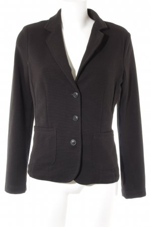 Opus Jerseyblazer schwarz Business-Look