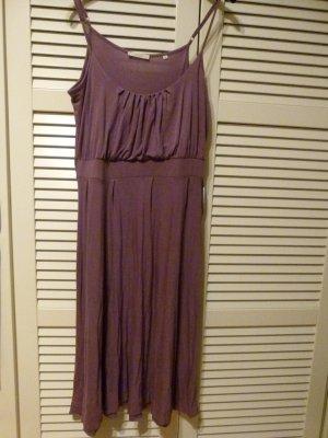 Opus Kleid mit Spaghettiträgern Größe 40 flieder