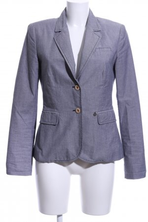 Opus Kurz-Blazer blau Business-Look